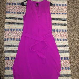 A.N.A Hot Pink Midi Summer Dress